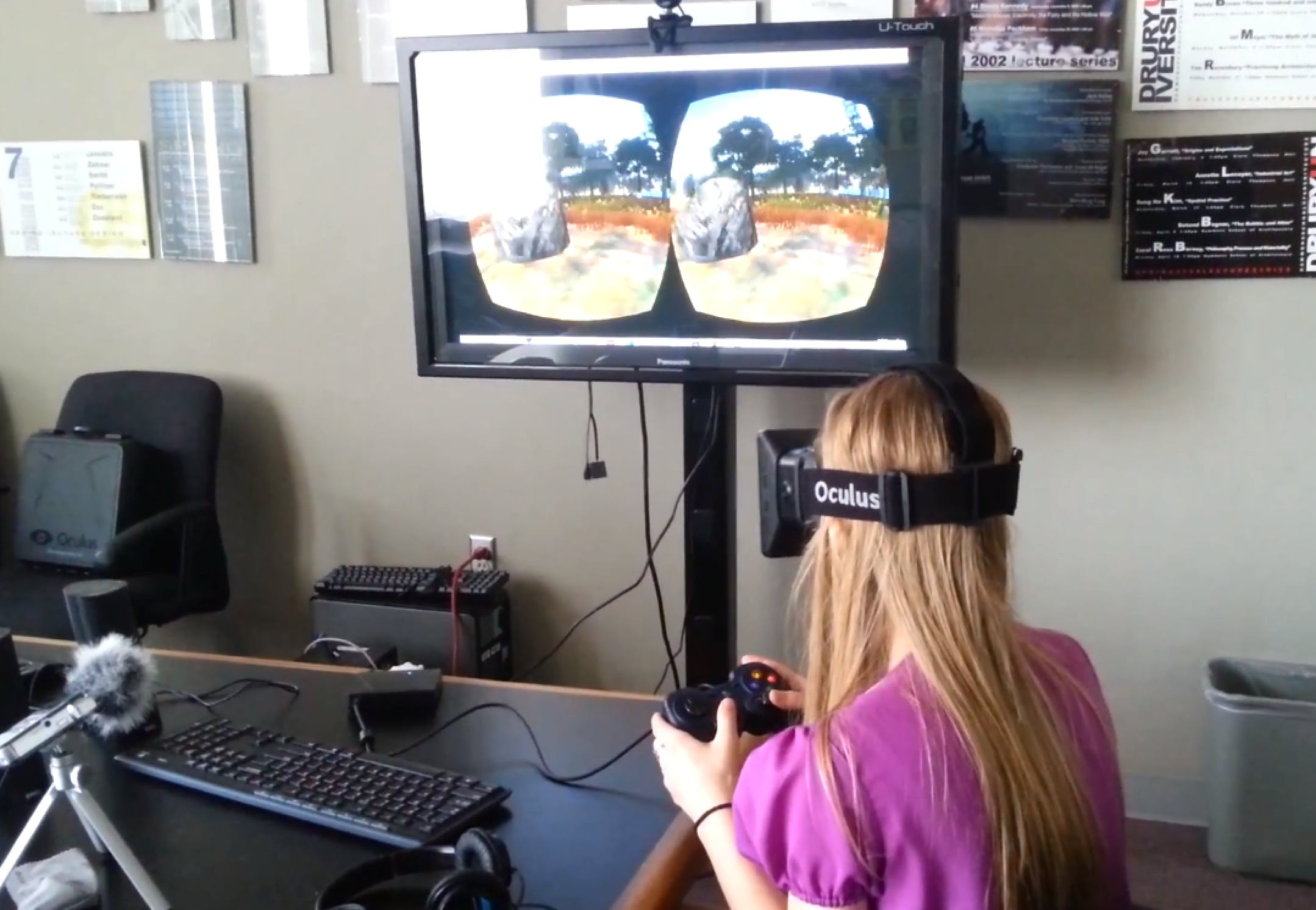 Drury architecture students are experimenting with virtual