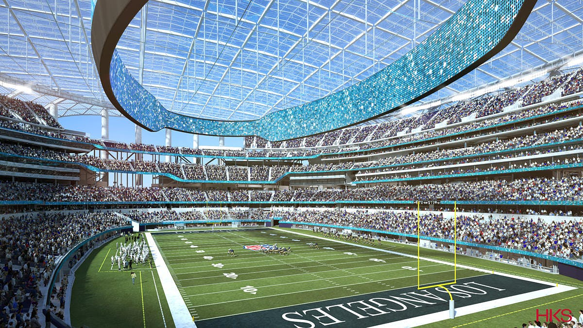 Auto Owners Login >> Estimated cost for L.A.'s football stadium project climbs to $5 billion | News | Archinect