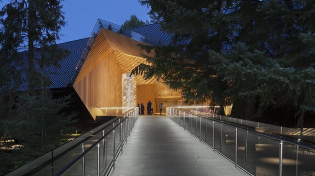 Finalist in 'Commercial/Institutional Architecture Over 1,000 Square Metres:' Audain Art Museum in Whistler, Canada by Patkau Architects