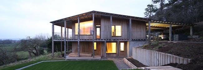 Dundon Passivhaus, Compton Dundon by Prewett Bizley Architects. Photo © Prewett Bizley Architects.