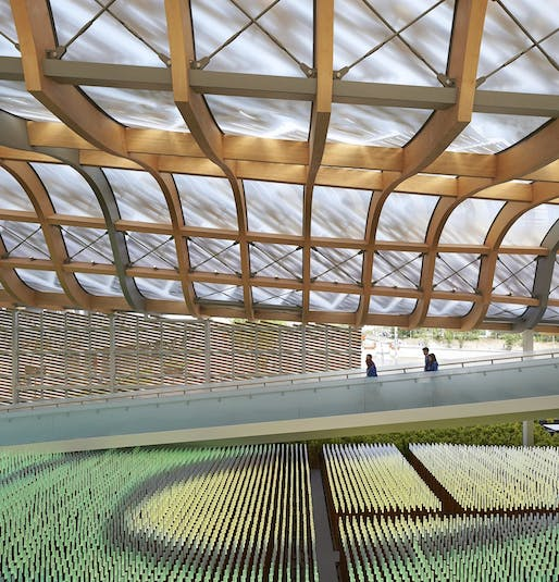 China Pavilion for Expo Milano 2015 by Studio Link-Arc, LLC. Image: Studio Link-Arc, LLC.