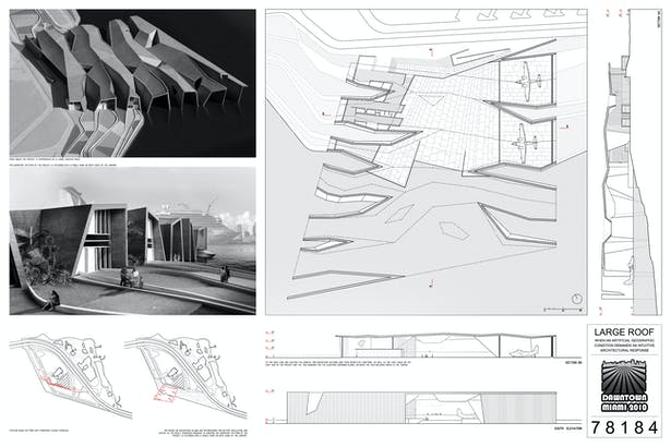 Honorable Mention-Large Roof Team: NC-OFFICE, Nik Nedev, Peter Nedev, Elizabeth Cardona, Cristina Canton, Jorge San Martin Location: Miami, FL, USA