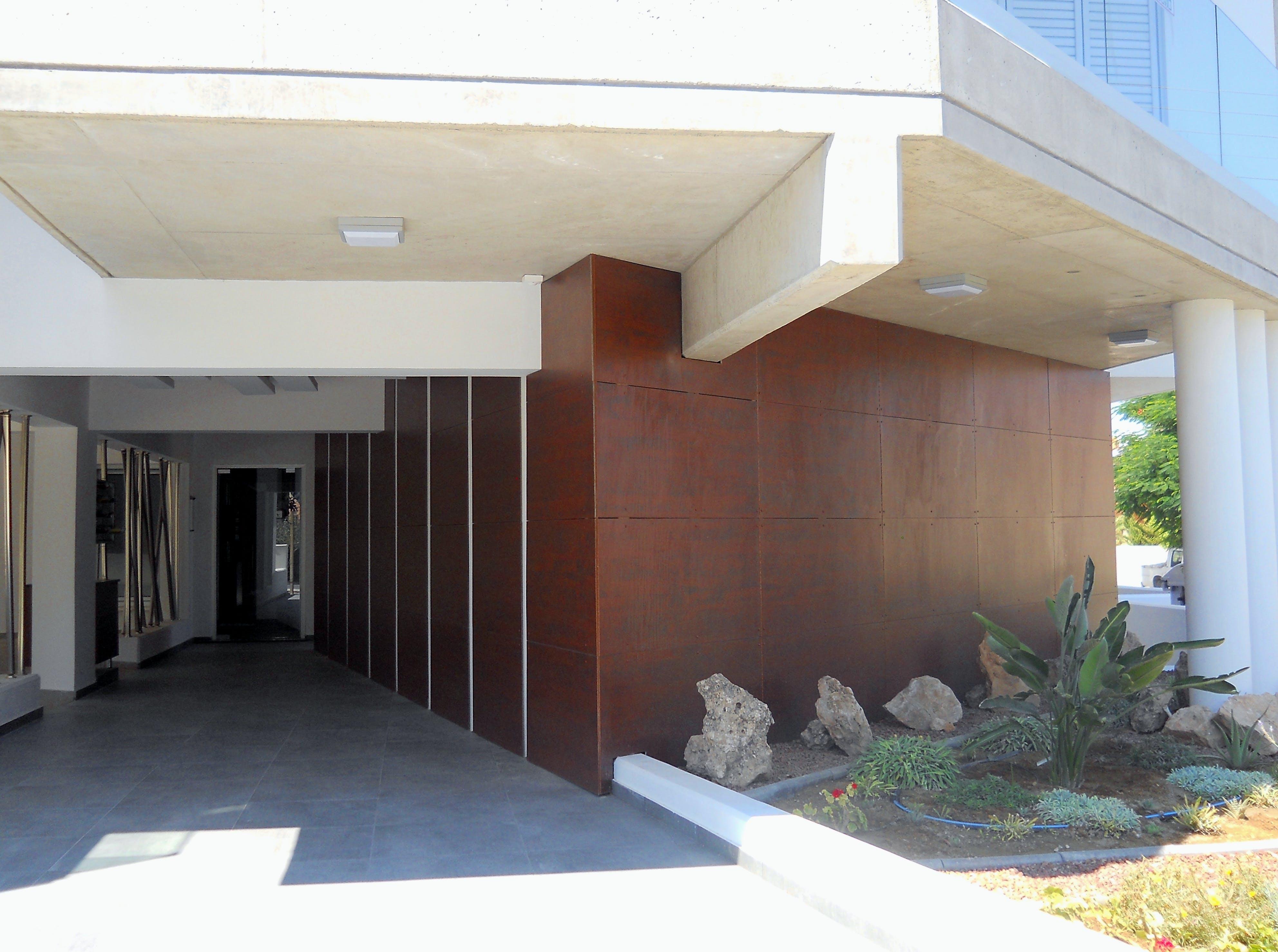 Apartment Building Lobby Design Agni Pavlidou Kyprianou