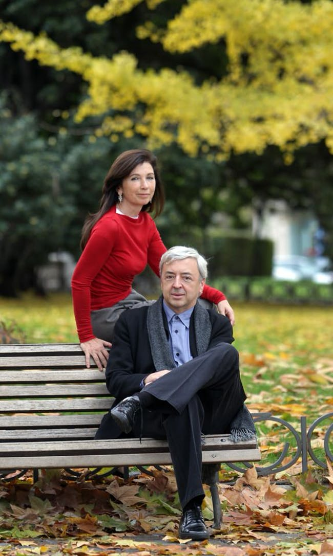 Fuensanta Nieto and Enrique Sobejano. Photo by ©2010 Luis Sevillano.