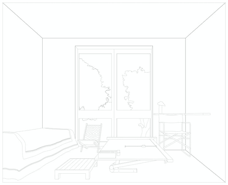Nasreen Mahamedi's room. Credit: Dogma