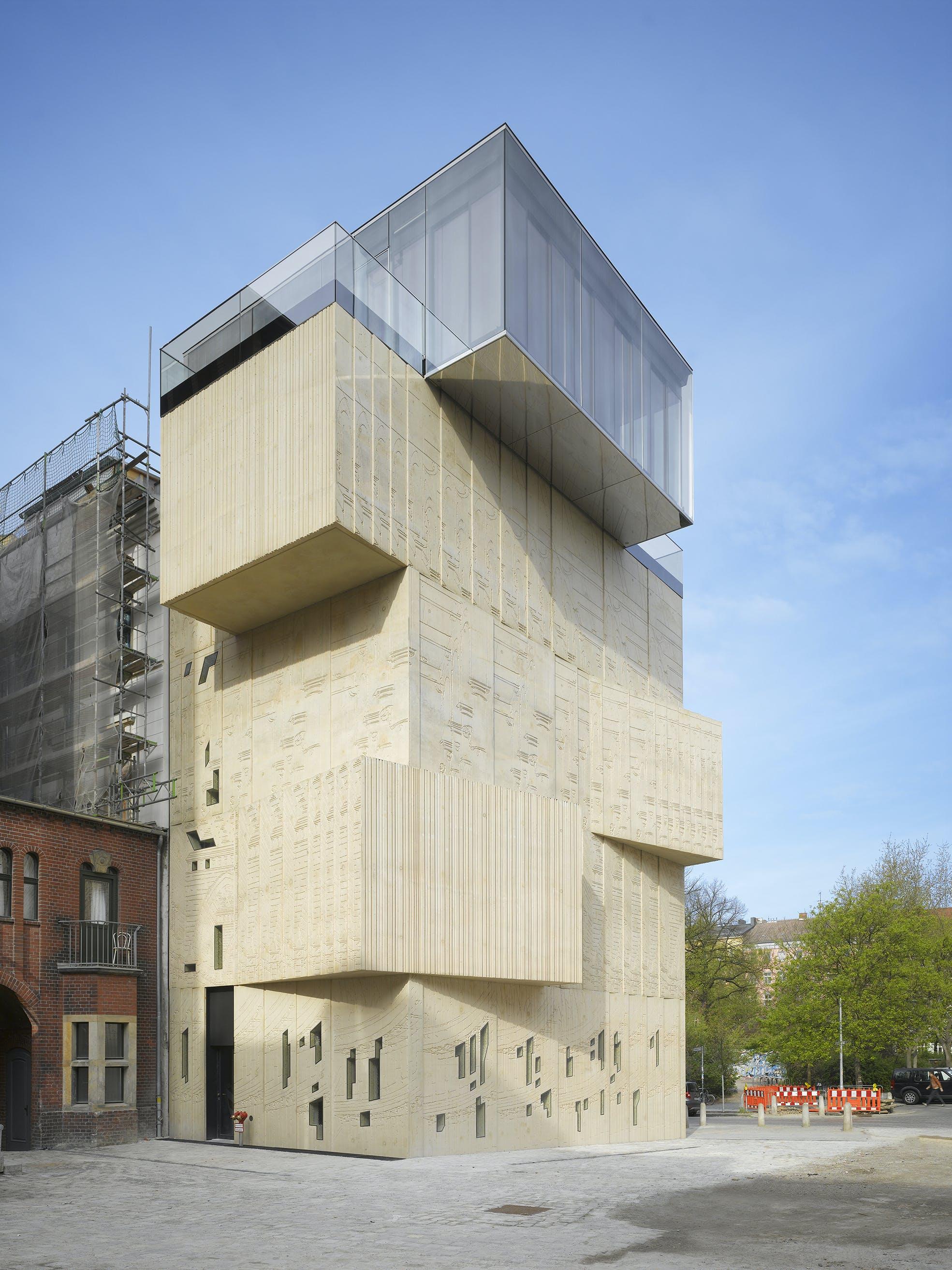 museum for architectural drawing berlin tchoban voss architekten