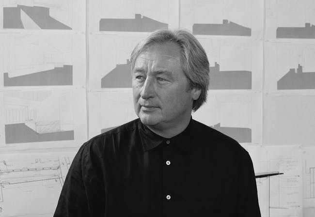 Steven Holl. Photo credit: Mark Heitoff. Reprinted from Steven Holl (Phaidon, 2015).