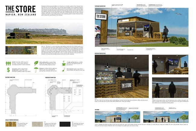 Economic Development, Third Place: The Store - Pillbox Conversion, Napier, New Zealand