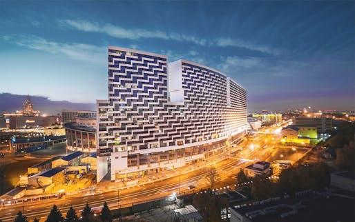 Image: LITSA apartment complex.