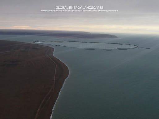 Territorial Figure – Tidal energy landscape, Punta Loyola, Argentina. By Stefano Romagnoli, Juan Cruz Serafini, and Tomás Pont Apóstolo, Universidad Nacional de Córdoba, Córdoba, Argentina