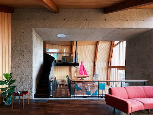 Houseboat, Poole, Dorset by Mole Architects with Rebecca Granger Architects. Photo: Rory Gardiner.