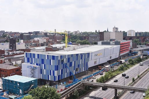 Redrock Stockport by BDP. Image: PlaceNorthWest.