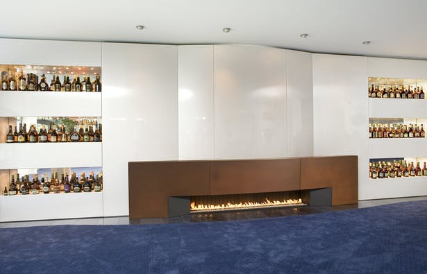Bloch Design wall fireplace 1
