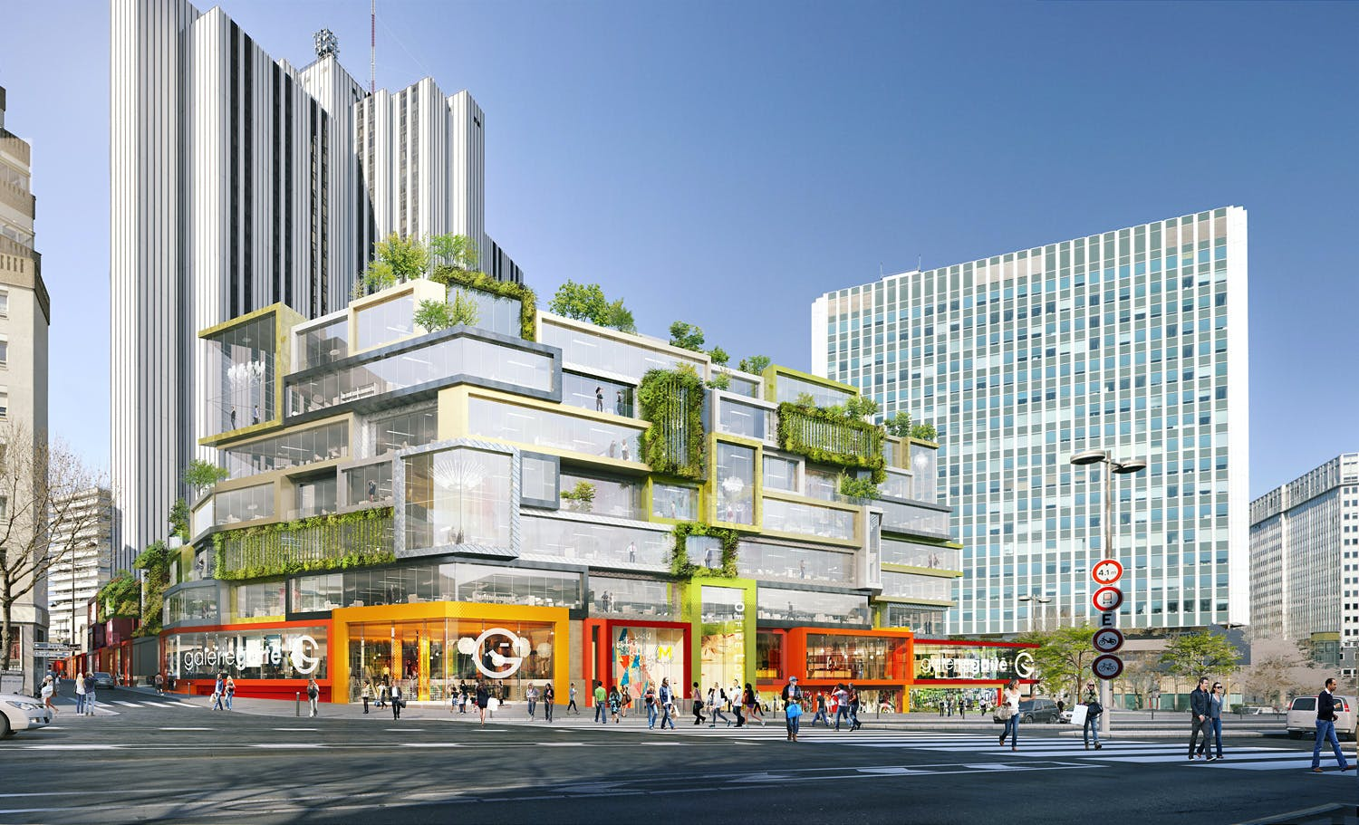 Mvrdv Approved To Redesign The 70s Vandamme Nord Block In