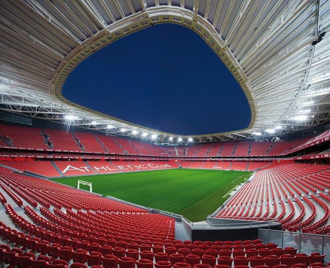 COMPLETED BUILDINGS - Sport winner: San Mamés Stadium | Spain. Designed by Azcárate (ACXT-IDOM)