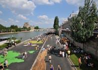 Left bank of Seine Paris
