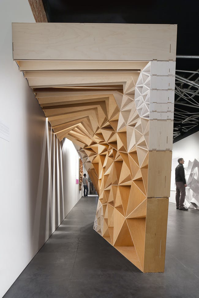 Stack in Los Angeles, CA by FreelandBuck; Fabrication, assembly, and installation: Ken Mishima & Juan Lau