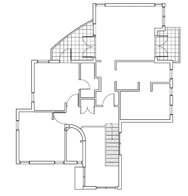 REVIT First Floor Plan