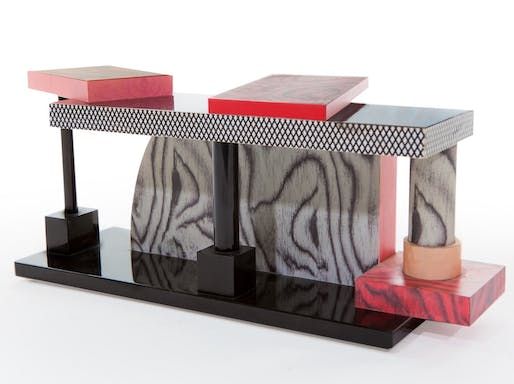 Tartar table, by Ettore Sottsass.
