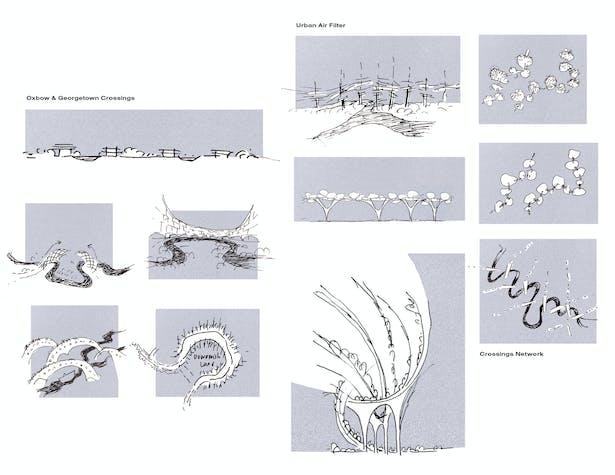 Duwamish Crossings: Study Sketches (Wittman Estes)