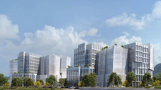 Rendering: Sora, image courtesy of Gehry Partners, LLP.