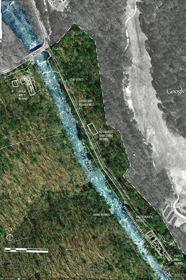 A Fluid Relic Chattahoochee National Recreation Area's historic presence via Chelsea Miller