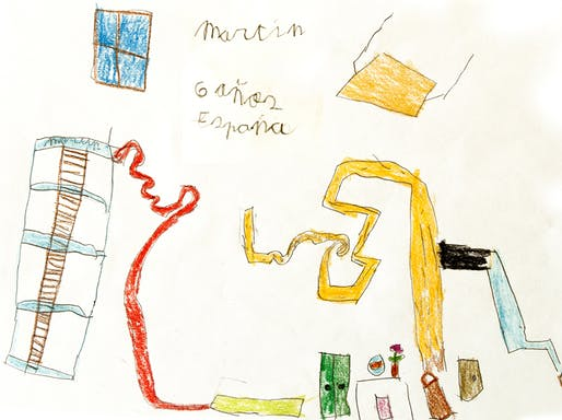 Drawing from Martin, age 6 (Spain). Image courtesy of Angie's List.