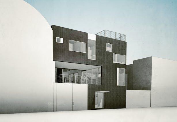 Street facade. PAUL CREMOUX studio