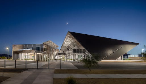 $15 million to $75 million - Merit: Canyon View High School, Waddell, Ariz. Architect and structural engineer: DLR Group. Photo: Bill Timmerman.