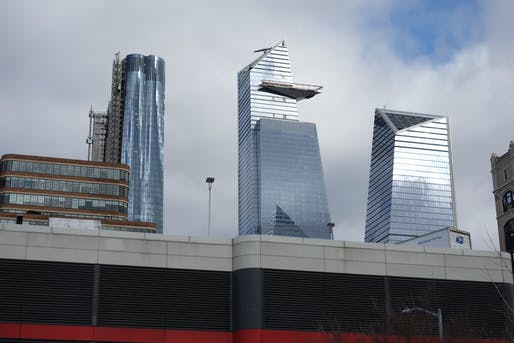 View of Hudson Yards. Image courtesy of Wikimedia user Tdorante10.
