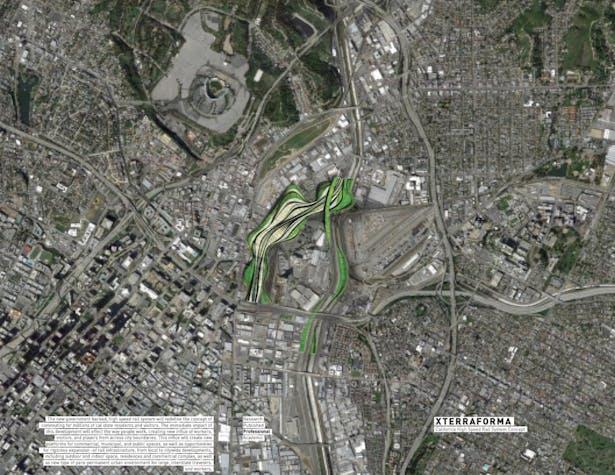 Xterraforma / California High Speed Rail System Concept