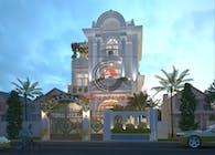Design Villa biệt thự tân cổ điển đẹp