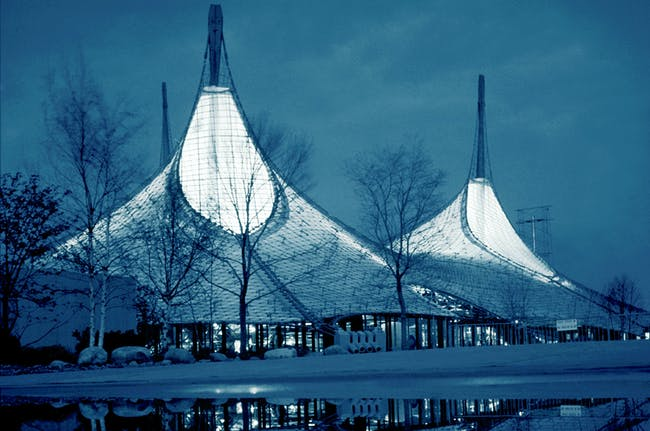The 1967 International and Universal Exposition or Expo 67, 1967, Montreal, Canada. Photo © Atelier Frei Otto Warmbronn