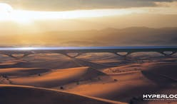 Plans for the first commercial Hyperloop system in the United Arab Emirates