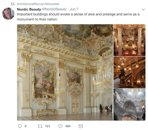 Twitter Account Dedicated To Traditional European Architecture Draws