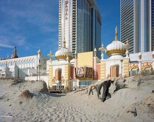The Trump Taj Mahal in 2016. Photograph: Brian Rose