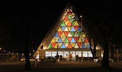 Shigeru Ban's Cardboard Cathedral opens in Christchurch