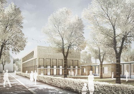 ...first competition - first price - primary school st.nikolai hamburg - brickboxitecture