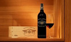 New Château Margaux wine bottle design features Norman Foster's architecture