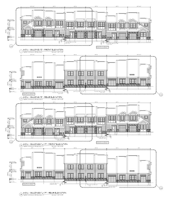 Town Home Elevations