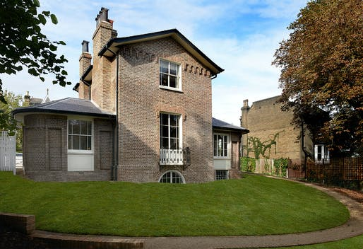 RIBA London Conservation Award: Turner's House by Butler Hegarty Architects. Photo: Anne Purkiss.