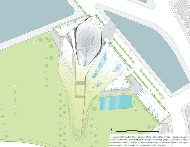 Vicinity site plan 2 (Image: Patrick Tighe Architecture)