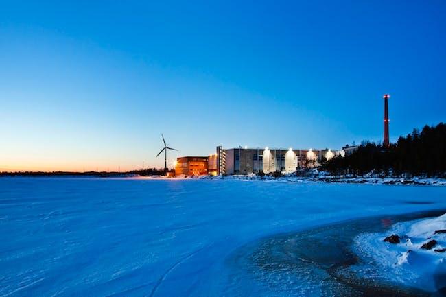 Hamina data center. Image via Google.