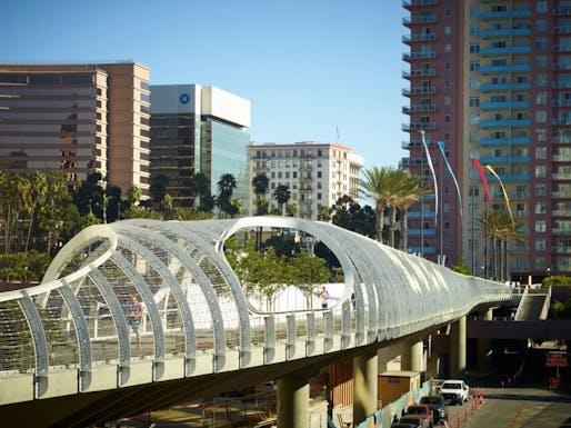 Rainbow Bridge by SPF:a located in Long Beach, CA. Image: SPF:a.