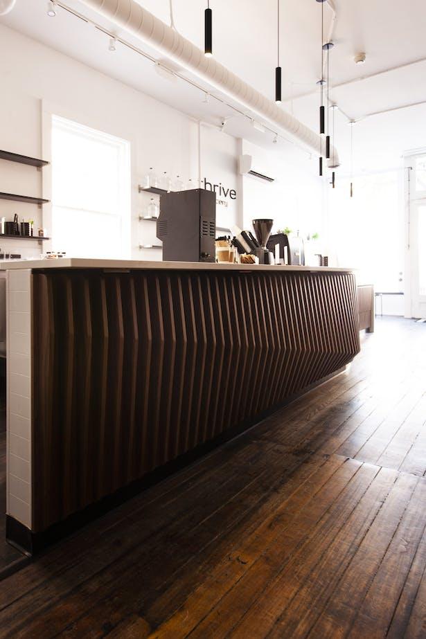 Thrive Juicery Ann Arbor, Michigan by Synecdoche Design Studio