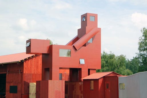 Canceled: the 40-ft-tall livable architectural sculpture, Domestikator, by Atelier Van Lieshout will not be part of an upcoming Paris contemporary art fair after all.