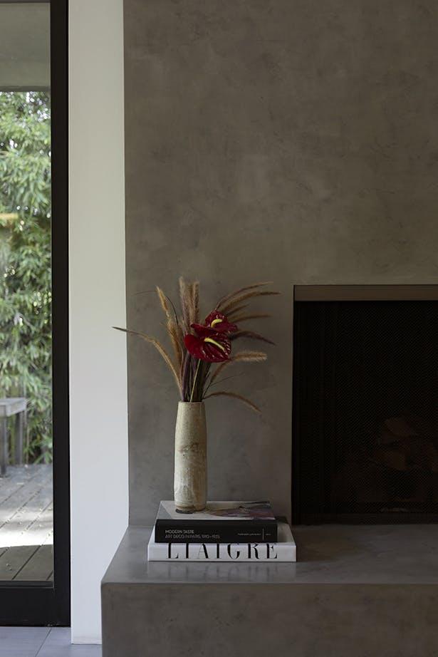 Fireplace (detail)