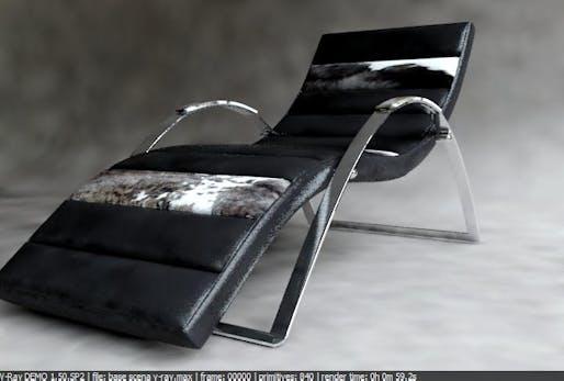 Industrial Design_ chaise longue
