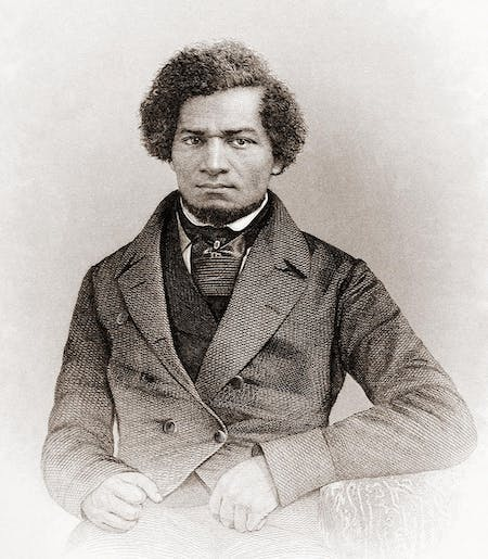 Portrait of Frederick Douglass, 1855