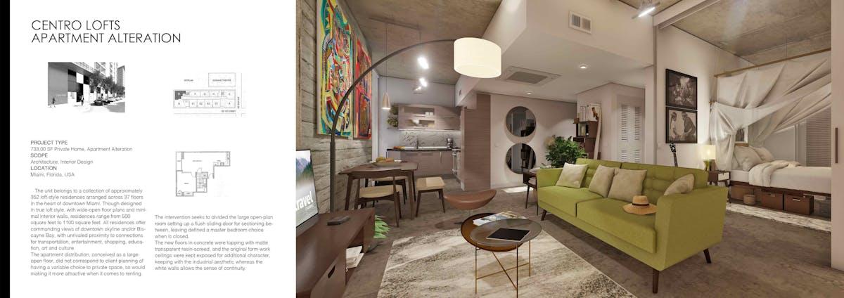 Centro Lofts Apartment Alteration Miami Fl Us Peter Hofmann Archinect